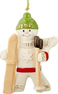 Lenox 2016 Downhill Delight Gingerbread Ornament