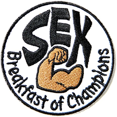 Sex Breakfast of Champion Embroidered Iron On Sew On PatchBadge For Clothes etc