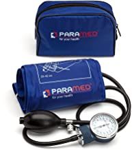 Professional Manual Blood Pressure Cuff – Aneroid Sphygmomanometer with Durable..