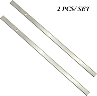 Planer Blades Knives 12.5 Inches HSS Replacement for Delta 22-560 22-562 22-565 TP400LS Craftsman 21758 Wen 6550 Triton TPT125 Performax Grizzly TP305 Porter Cable PC305TP 12-1/2