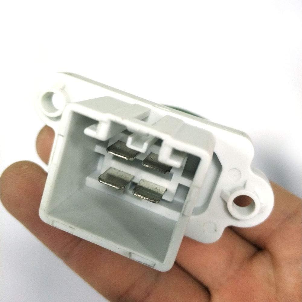 PIAO piaopiao Blower Motor Fan Calentador Resistor Ajuste para Ford Fiesta Focus Mondeo S-MAX Galaxy 2002 2003 2004 2005 2006 En adelante 3M5H18B647AC 132597