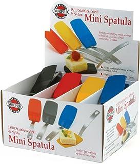 Norpro 1414D Mini Spatula, Assorted Colors Single, Nylon