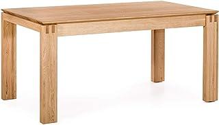 Marque Amazon -Alkove Hayes - Table de salle à manger à rallonge, 160-240x90x77cm, Chêne sauvage
