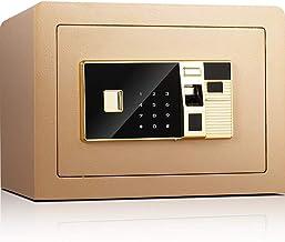 JBAMQ Electronic Digital Security Safe Box, Biometric Safe Fingerprint Safe,for Office Hotel Jewelry Gun Cash Medication, ...