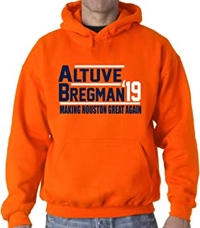 Orange Houston Altuve Bregman 2019 Hooded Sweatshirt