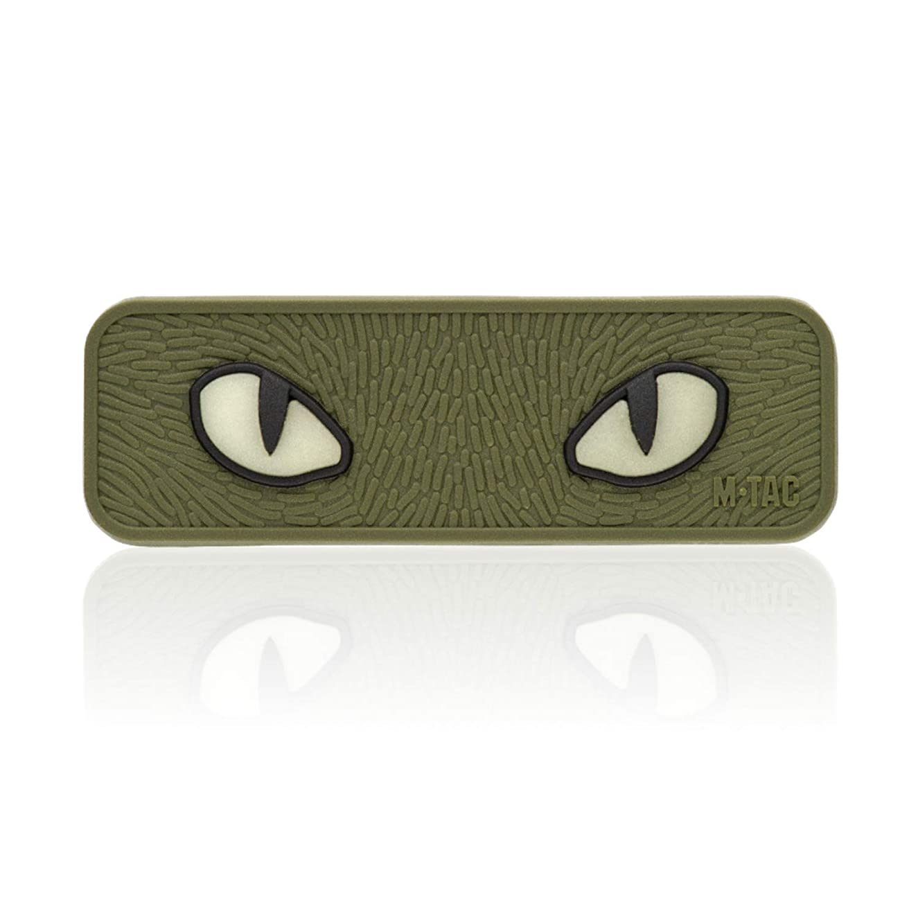 M-Tac Cat Eyes PVC Morale Patch - Tactical Patch - Hook Fasteners