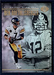 2018 Panini Illusions #76 Ben Roethlisberger/Terry Bradshaw NM-MT Pittsburgh Steelers Football