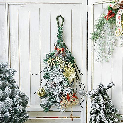 Pendenti in Tessuto Natalizio Nordico Simulazione Creativa Decorazione vegetale Soggiorno in casa Vacanze Appesi a Mano Decorazioni 70 cm x 25 cm Ornamenti capovolti per Alberi di Natale - Modelli D