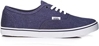 Washed Canvas Authentic Lo Pro Skateboarding Shoe Eclipse/True White Size 3.5 Men