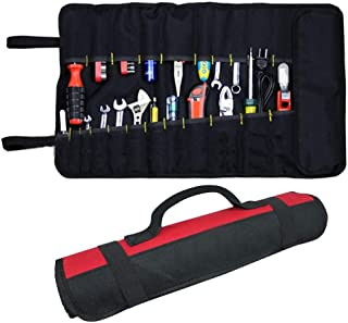 Preamer Waterproof Portable Tools Bag Screwdriver Tool Roll Bag Case Pouch Wallet Holder With 22 Pockets