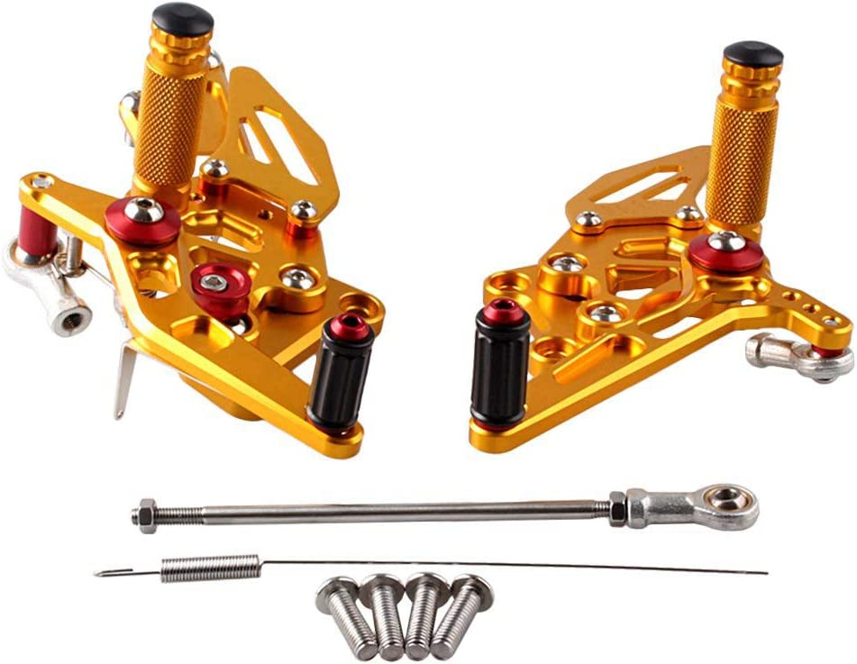 Luckmart Motorcycle Foot Pegs shop Rearsets Rider Set Rear List price Adjustable