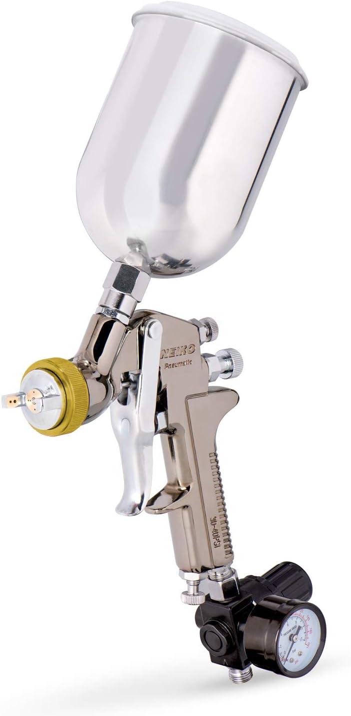 NEIKO 31215A HVLP mart Gravity Feed Sales Air Paint Gun Spray mm Nozz 1.7