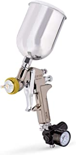 Neiko 31215A HVLP Gravity Feed Air Spray Gun, 1.7 mm Nozzle Size, 600 cc Aluminum Cup, 1.7 mm nozzle