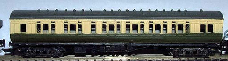 Langley Models GWR Double Slip Coach N Maßstab 1 148, unlackiert B07KVJPSDW Reichhaltiges Design    Spielen Sie das Beste
