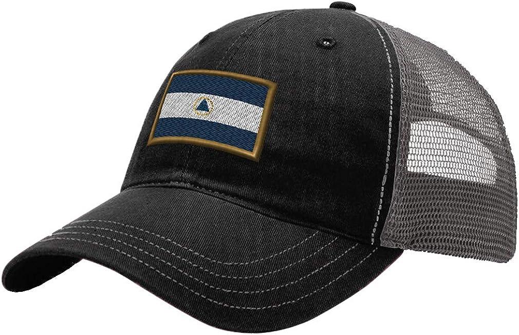 Custom Trucker Hat Richardson Nicaragua Embroidery City Name Cotton Snaps