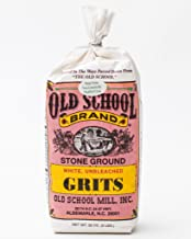 Old School Stone Ground White Corn Grits Non-GMO 32 ounces