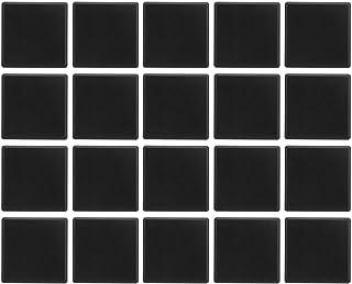 Aluminium Profiel 4-Gaten Eindkap, Heaveant 20 Stuks Aluminium Profiel 6060 Eindkap 4-Gaten ABS Plastic CNC 3D Printer Ond...