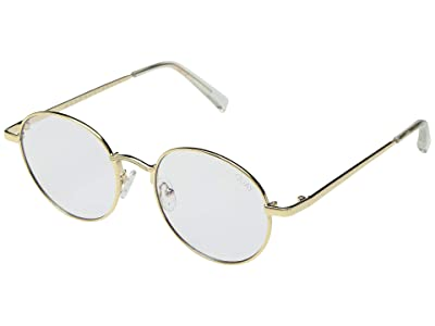 QUAY AUSTRALIA I See You Blue Light Glasses (Gold/Clear Blue Light) Fashion Sunglasses