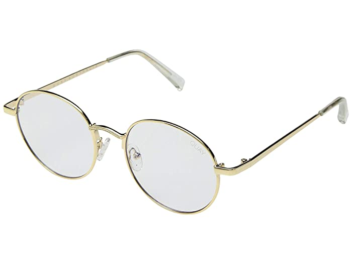 1920s Sunglasses, Glasses | 1930s Glasses, Sunglasses QUAY AUSTRALIA I See You - Blue Light Glasses GoldClear Blue Light Fashion Sunglasses $60.00 AT vintagedancer.com