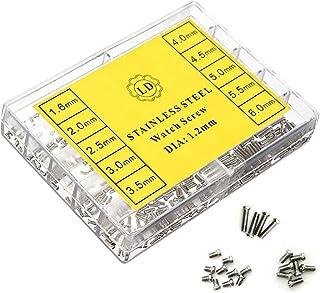 Hemobllo Guarda Micro Occhiali da Vista Occhiali da Vista Kit di Riparazione Viti per Acciaio Inossidabile Kit di Attrezzi...