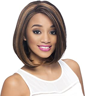 Vivica A Fox Hair Collection Jinny New Futura Synthetic Heat Resistant Fiber Full Lace Front Wig, M1DP, 9.5 Ounce