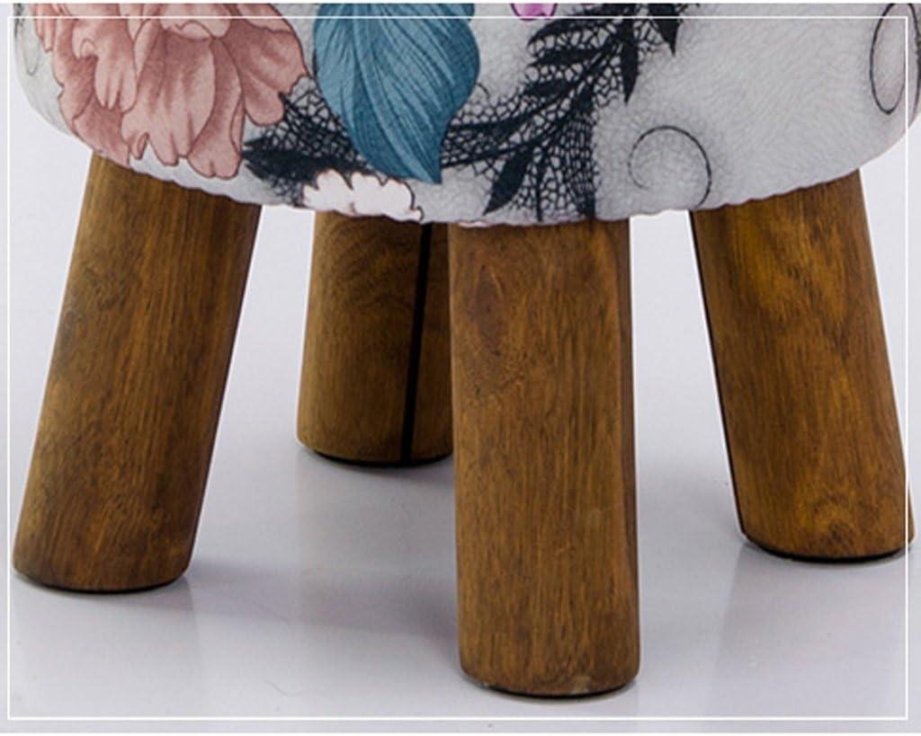 SLL- Tissu canapé tabouret tabouret personnalité de personnalité tabouret simple tabouret de mode tabouret Fauteuils et Chaises (Color : E) E