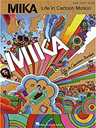 Mika: Life In Cartoon Motion. Partitions pour Piano, Chant et Guitare