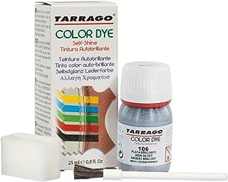 | Self Shine Color Dye 25 ml | Tintura Autobrillante para Zapatos y Accesorios | Cubre Rozaduras y Desgastes del Calzado | Plata Brillante (106)