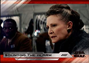 2018 Topps Star Wars The Last Jedi Series 2#27 Sounding the Alarm Movie Collectible Trading Card