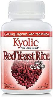 Kyolic Aged Garlic Extract Formula 114 Red Rice Yeast & Coq10, 75 Capsules