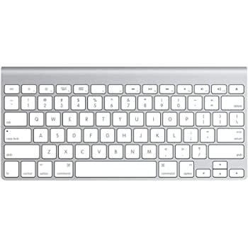 Amazon Com Apple Wireless Keyboard With Bluetooth Silver Renewed Computers Accessories