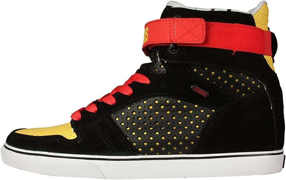 Osiris Rhyme Remix in New Free Shipping Blk Del 8 Free shipping New Red Yell
