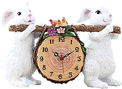 ZML Reloj pequeño Reloj de cabecera Continental Reloj de la Personalidad Creativa de la Moda Dormitorio