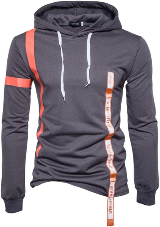 87cfa3ec71ec82 Casual Ribbon Decoration Hoodies Men Fashion Tracksuit Sweatshirt  Sweatshirt Sweatshirt Hoody fb5936
