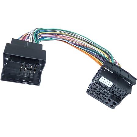 1 1 Most Quadlock Auf Quadlock Verlängerung 30 Cm Stecker Kabel Adapter Auto