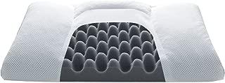 点で支える独自構造 昭和西川 ムアツまくら メンズ 消臭効果のある備長炭パイプ配合 50x35cm