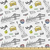 Lunarable American Fabric by The Yard, New York City of