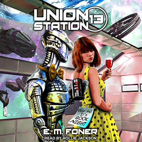 Book Night on Union Station audiobook cover art