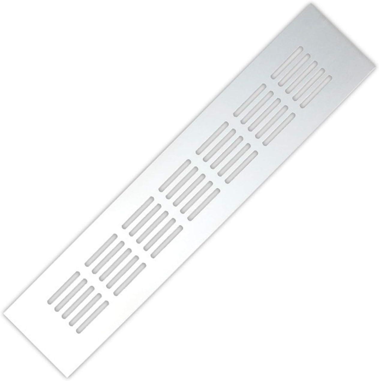 Cuiling-valla de aire Aleación de aluminio de salida de aire, Chapa perforada Web Hoja Rejilla de ventilación, for el armario de zapatos armario de la cubierta decorativa, 15cm-60cm rejilla de escape