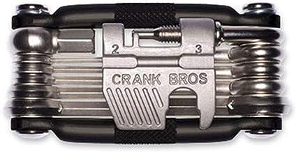 CRANKBROTHERS M19 Multiherramienta, Unisex Adulto, níquel, No se Aplica