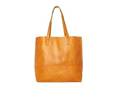 ABLE Mamuye Classic Tote (Cognac) Handbags