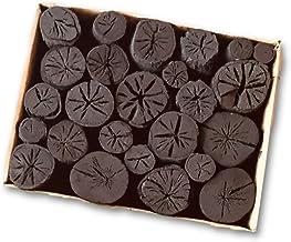 しらおい木炭2kg【ナラ・丸炭】・約6cm 無煙無臭の硬質黒炭。北海道産・国産 茶炭 菊炭