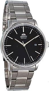 Orient RA-AC0E01B Men's Maestro Stainless Steel Minimalist Black Dial Automatic Watch