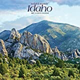 Idaho Wild & Scenic 2021 12 x 12 Inch Monthly Square Wall Calendar, USA United States of America Rocky Mountain State Nature