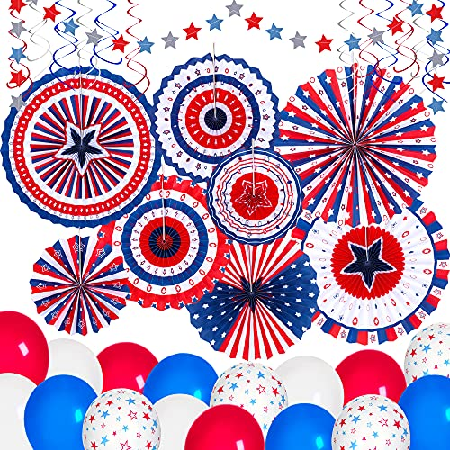 Fourth of July Party Decorations Set