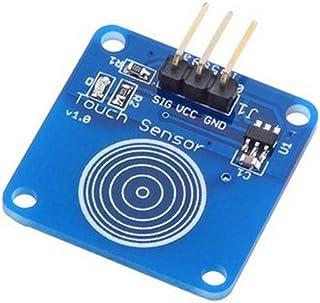 HALJIA Interruptor táctil Digital con Sensor táctil Compatible con Arduino UNO, Due, Mega