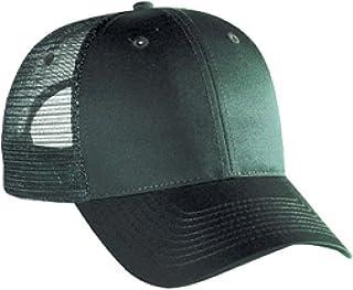 OTTO Cotton Blend Twill 6 Panel Low Profile Mesh Back Trucker Hat 60c37fad7ef6
