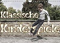 Klassische Kinderspiele (Wandkalender 2022 DIN A4 quer): Tolle Fotos von aktiven Kindern im Spiel (Monatskalender, 14 Seiten )