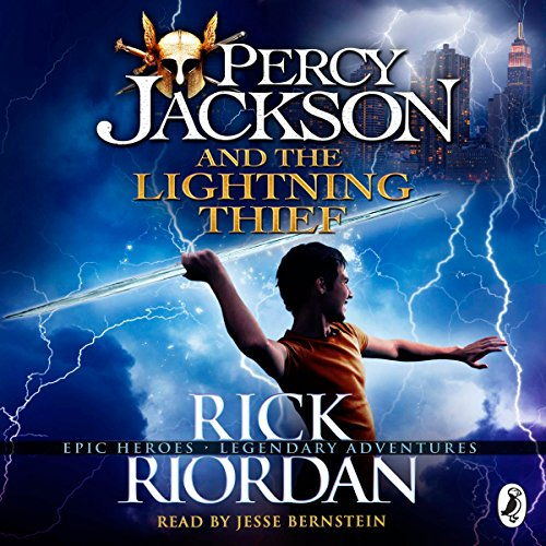 The Lightning Thief: Percy Jackson, Book 1 audiobook cover art