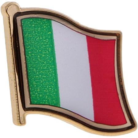 Sharplace Distintivo Perno Spilla Di Bandierina Nazionale Italia Francia Germania Cina Spagnola Giapponese Australia India US - 5
